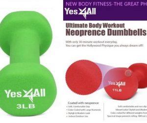 Yes4All Deluxe Neoprene Dumbbell